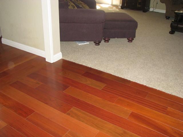 Brazilian Cherry Hardwood Flooring Modern Hardwood Flooring San Francisco By Precision