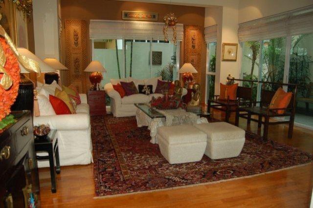 Woodgrove Ave - Singapore tropical-living-room