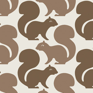 Aimee Wilder Squirrels Wallpaper contemporary wallpaper