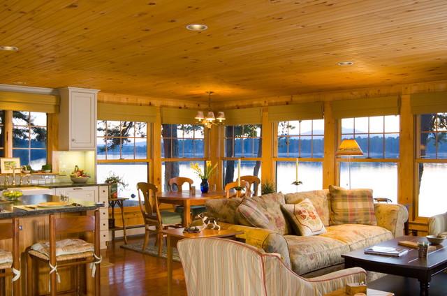 Edwina Drummond Interiors rustic-family-room