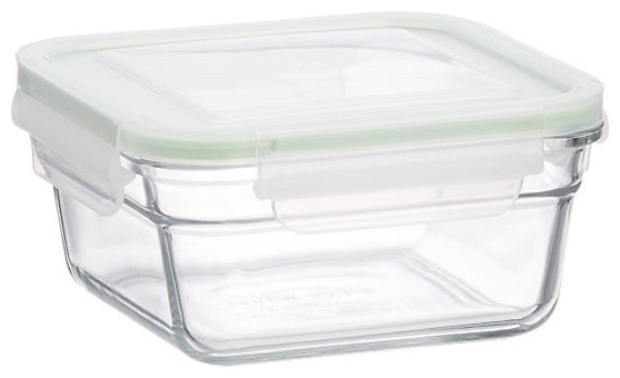 Glasslock Square Ovensafe modern cookware and bakeware