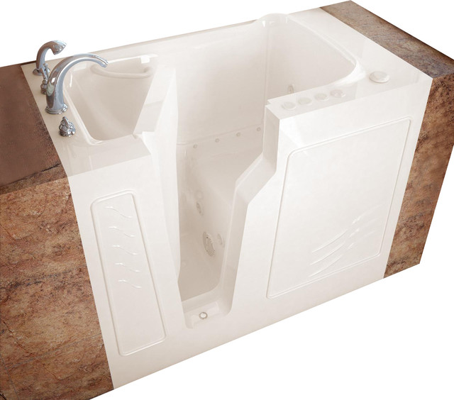 "Meditub 2646 26"" x 46"" x 38"" Tub Gel Coat modern-bathtubs"