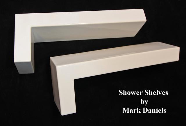 Modern Bathroom Shower Shelf Ideas Modern Dc Metro