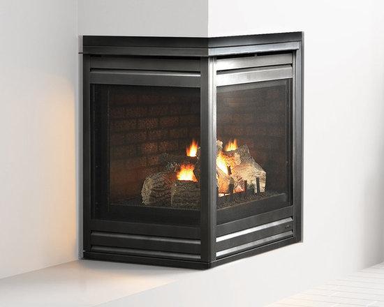 Corner Gas Fireplace -