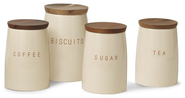 bristol canisters modern kitchen canisters and jars