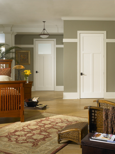 Arts Amp Crafts Door Traditional Interior Doors