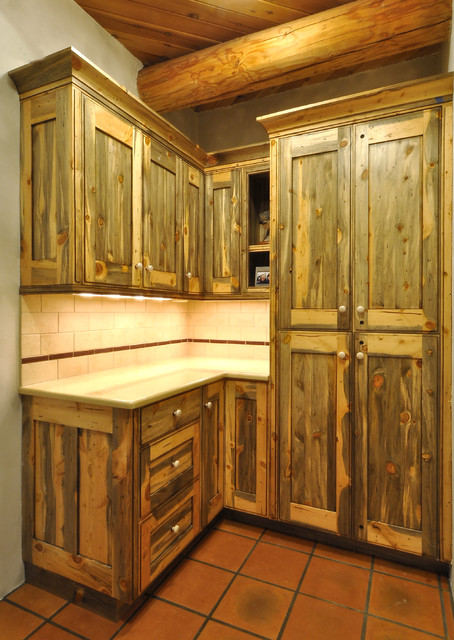 Beetle Kill Kitchen Cabinets