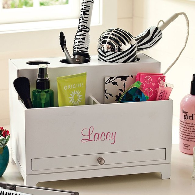 perfectly prepped hair accessories organizer bathroom