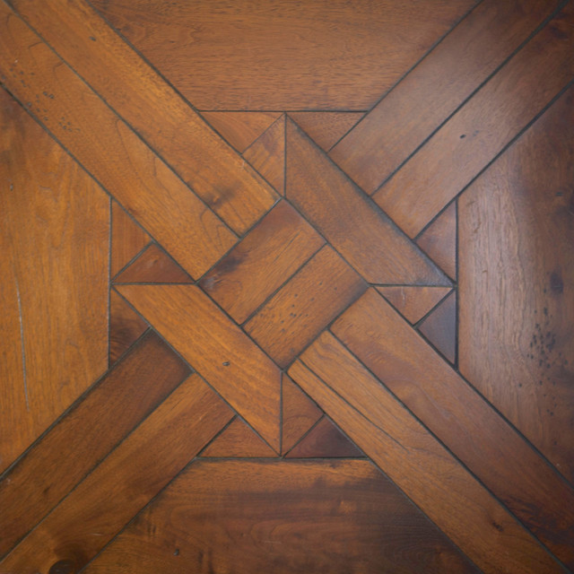 Custom Parquet Flooring - Traditional - Hardwood Flooring - orange county - by Warren ...