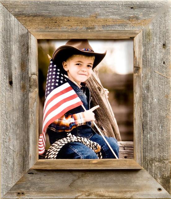 9x12 Cowboy Picture Frame, Medium Width 3 inch Western Rustic Series  Si rustic-frames