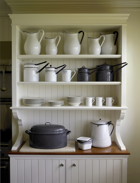 Coastal Maine traditional kitchen
