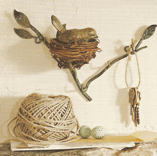 Nest Key Hook traditional-home-decor