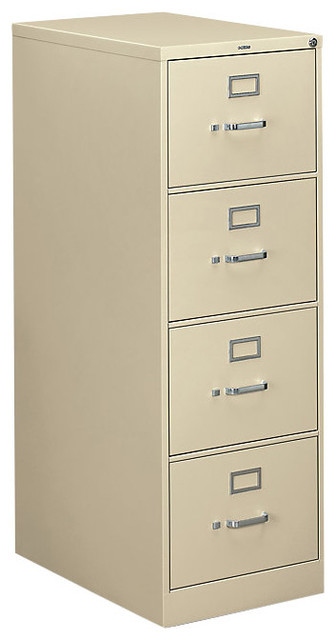 Hon 310 4-Drawer Legal File - Contemporary - Filing Cabinets - by SmartFurniture