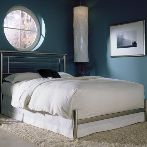 Chatham Metal Bed modern-headboards