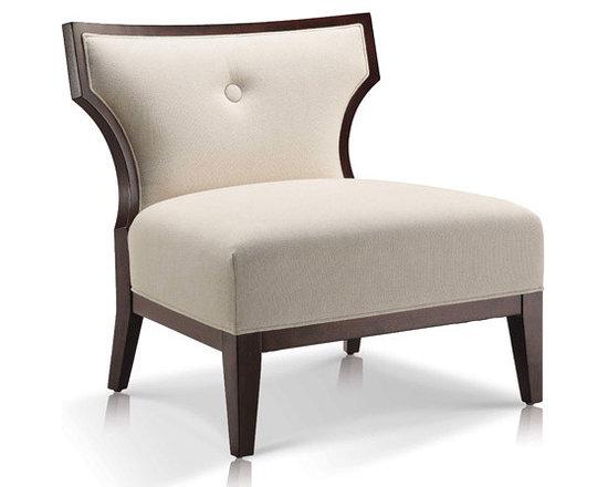 Sidney Linen Slipper Chair - For more information: