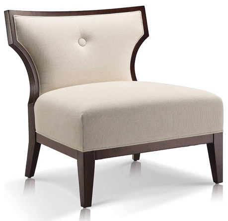 Sidney linen slipper chair contemporary armchairs and for Chair design toronto