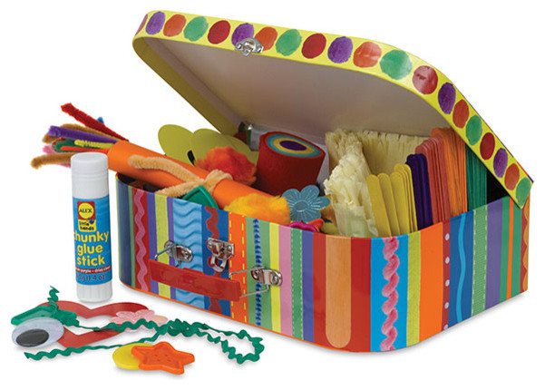 Alex my crafty kit blick art materials kids toys and for Art from waste for kids