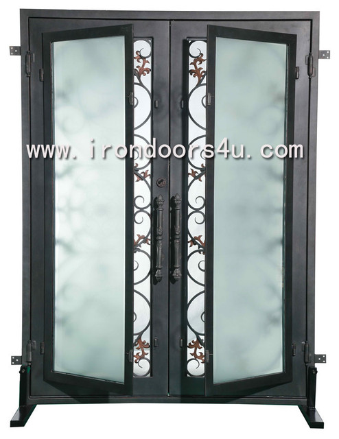 Iron front doors----DSD-009 traditional-front-doors