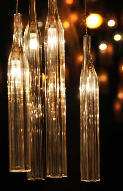 Tube pendant-lighting