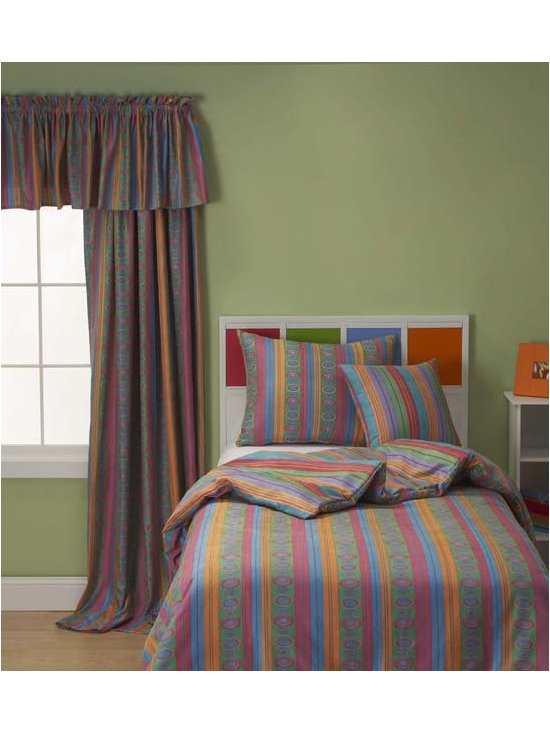 Bead Boutique Modern Youth Bedding Set By SIS Covers - Bead Boutique Modern youth bedding is printed on a super-soft 100% polyester machine washable microsuede.