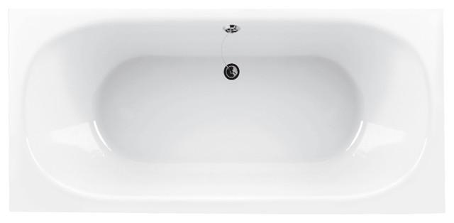 Aquatica Inflection AquaStone Bathtub, 31.5 X 20.5 X 25.75, B Rectangular modern-bathtubs