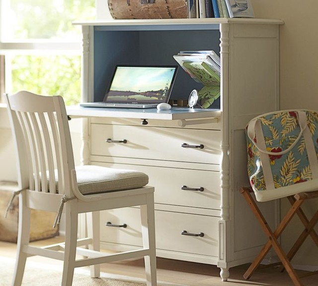 Cassidy Secretary - Traditional - Desks And Hutches - by Pottery Barn