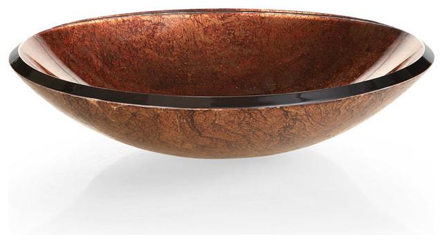 xylem reflex vessel sink metallic copper modern bathroom sinks by beyond stores