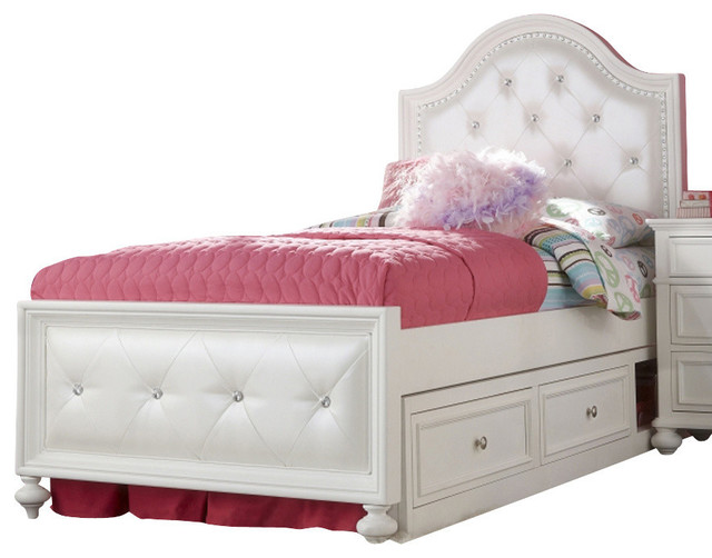 Legacy Classic Kids Madison Upholstered Twin Bed W