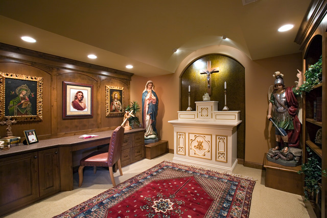 2006 Luxury Home Tour traditional-home-office
