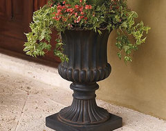 Small Tuscany Urn - Frontgate traditional outdoor planters