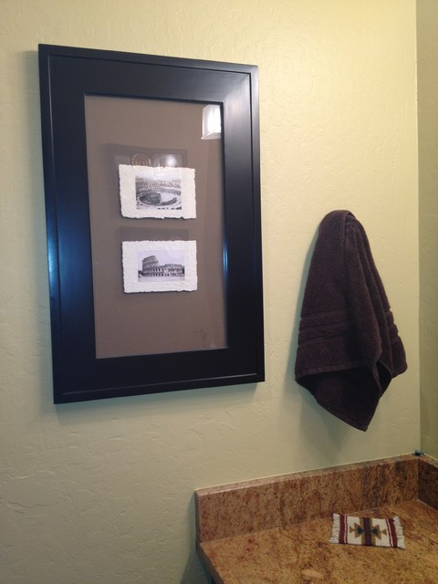 Recessed Picture Frame Medicine Cabinets with No Mirrors - Bathroom Storage - los angeles - by i ...