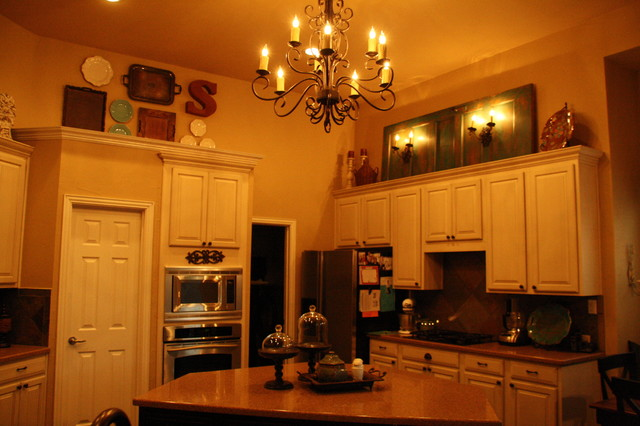 Schafer Residence traditional-kitchen