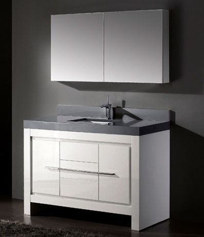 White bathroom vanities contemporary bathroom vanities and sink