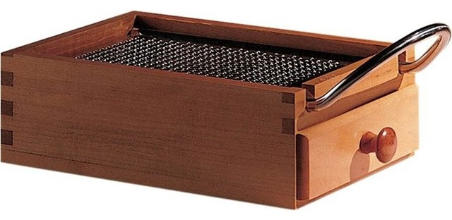 Alessi Flat Cheese Grater modern-graters
