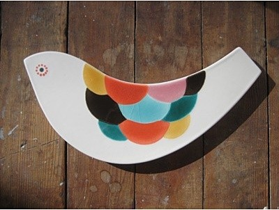 Scales Bird Tile eclectic-kitchen-products