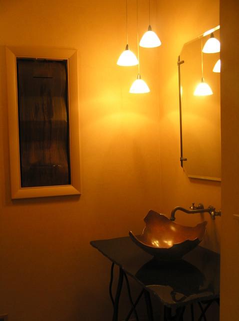 Greenville, DE Remodel eclectic-powder-room