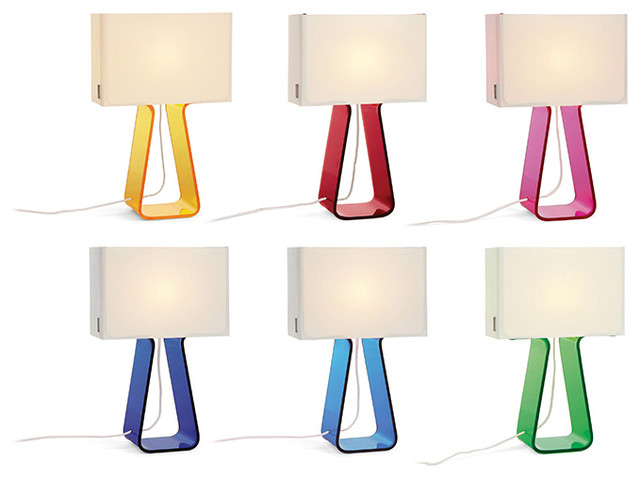 Pablo - Pablo Tube Top Colors Table Lamp modern-table-lamps