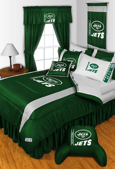 Nfl New York Jets Bedding And Room Decorations Modern