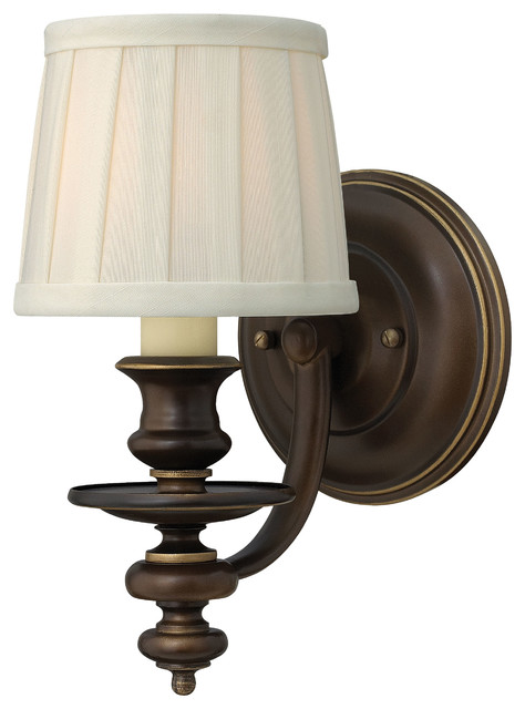 Dunhill Single Light Wall Sconce - Traditional - Wall Lighting - by Carolina Rustica