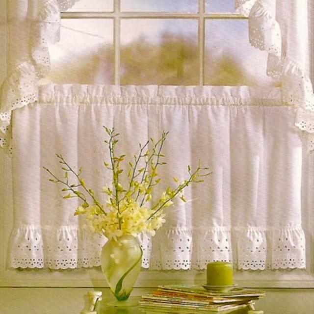 United Curtain Vienna Kitchen Tier