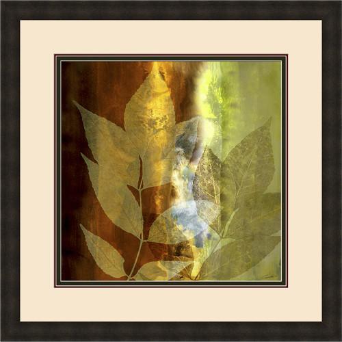 """""""Lush Sunlight"""" custom framed giclee traditional-artwork"""