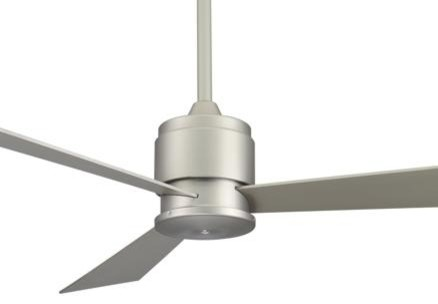 Fanimation The Zonix Ceiling Fan in Satin Nickel contemporary-ceiling-fans