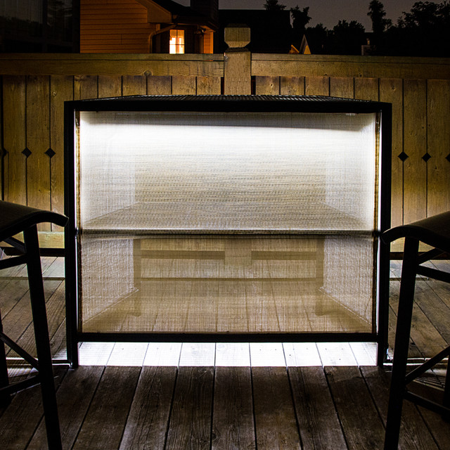 Led Patio Table Accent Lighting Modern Deck St Louis