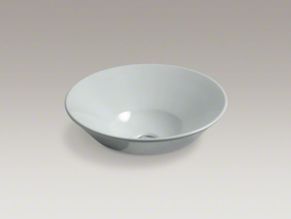 KOHLER Conical Bell(R) Vessel above-counter or wall-mount bathroom sink - Contemporary ...