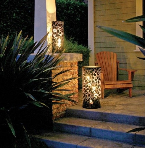 Season Metal Lantern modern-outdoor-lighting