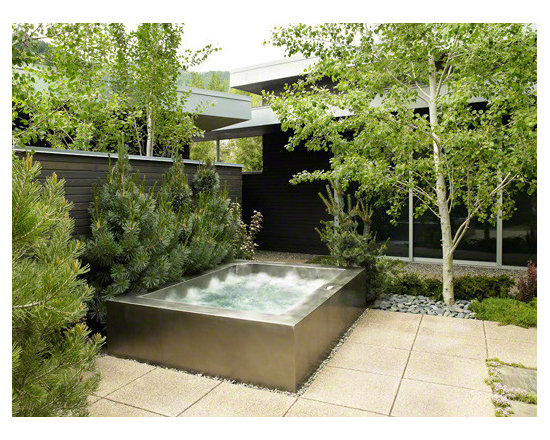 Stainless steel luxury sustainable custom spa -