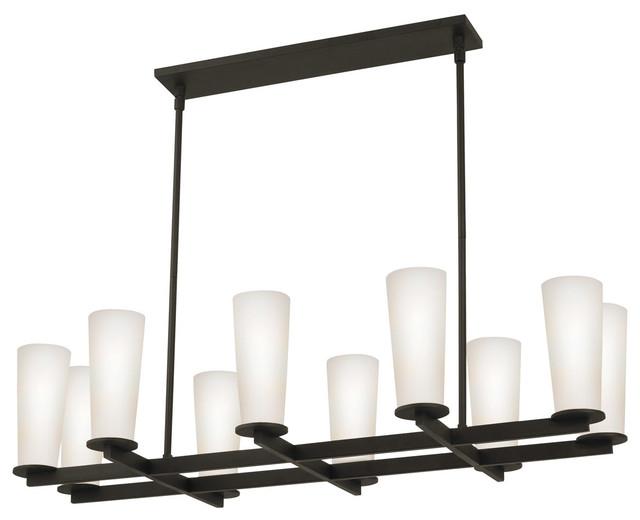 Sonneman 4929.32 High Line Black Bronze Island Light contemporary-kitchen-island-lighting