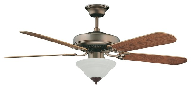 "Traditional 52"" Concord Decorama Cherry Bronze Ceiling Fan with Light traditional-ceiling-fans"