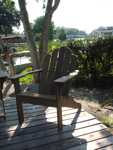 Ipe Adirondack chair outdoor-chairs