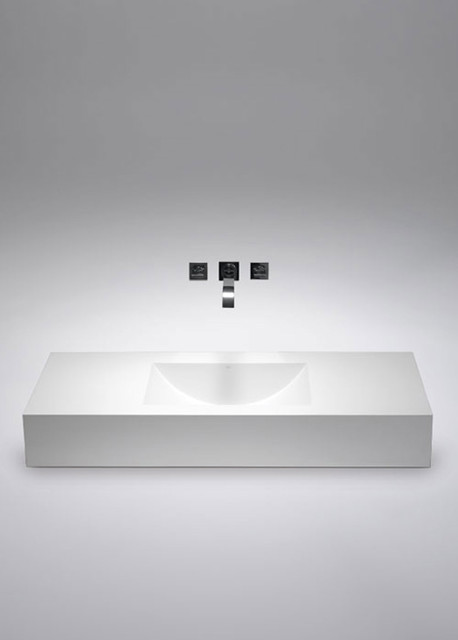 SA0602 blu•stone™ wall-hung sink modern-bathroom-sinks